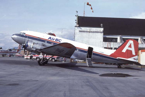 DC.3 C-GWUG Air BC May-84
