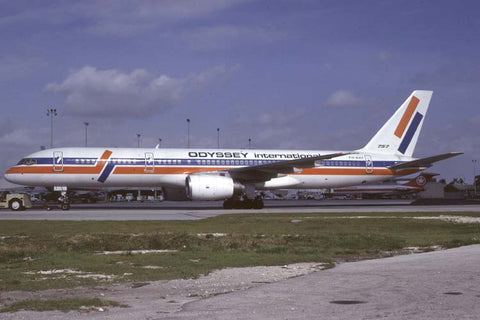 B.757-200 PH-AHF Odyssey International Dec-85