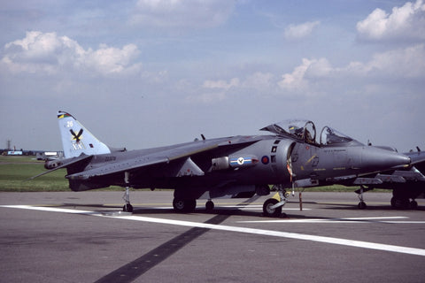 Harrier GR.7 ZD378/26 RAF/20(R)Sqdn Jul-01