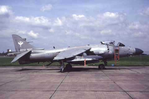 Sea Harrier F/A.2 ZE694/L-004 FAA/801Sqdn May-01