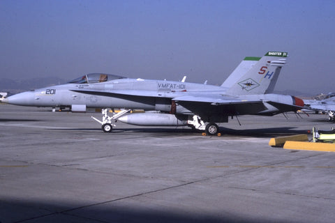 F/A-18C 164873/SH-201 USMC/VMFAT-101 Oct-94 - cag 'Shooter 01'