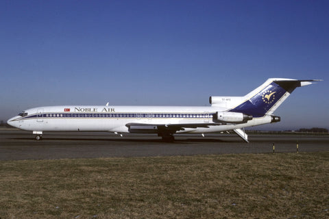B.727-200 TC-AFC Noble Air Jan-91