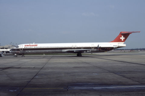 MD-81 HB-ISX Swissair May-90