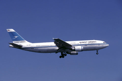 A.300-600R 9K-AME Kuwait Airways Jun-00