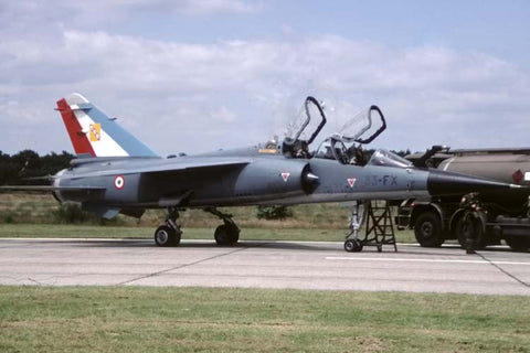 Mirage F.1B 509/33-FX French AF/EC.33 at Kleine Brogel Jul-02