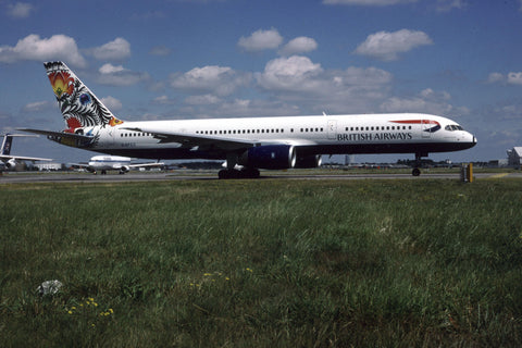 B.757-200 G-BPED British Airways - 'Koguty Lowickie' World Colours tail Jun-98