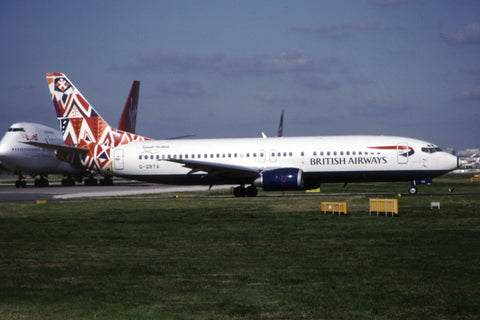 B.737-400 G-GBTA British Airways - 'Youm-al-Suq' World Colours tail Oct-01