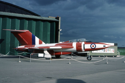 Javelin FAW.9 XH897 RAF/ex. A&AEE preserved at Duxford Oct-83