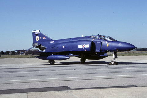 Phantom FGR.2 XT899/B RAF/19Sqdn - 75th anniversary c/s Sep-91