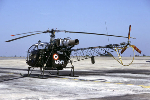 SA.315B Alouette II Z2867 Indian Army Dec-96