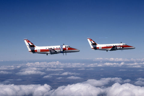 2 x Jetstream T.1s XX492/A RAF/45(R)Sqdn, 6FTS Oct-03