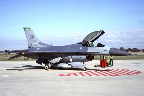 F-16C 83-1158/OH USAF/112thFS,180thFW (Oh ANG) Dec-92