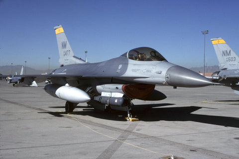 F-16C 88-0477/NM USAF/188thFS,150thFW (NM ANG) 1990s