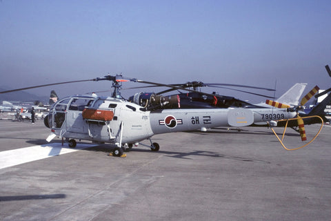SA.319B Alouette III 790309 Rep of Korea Navy/621HS Oct-98