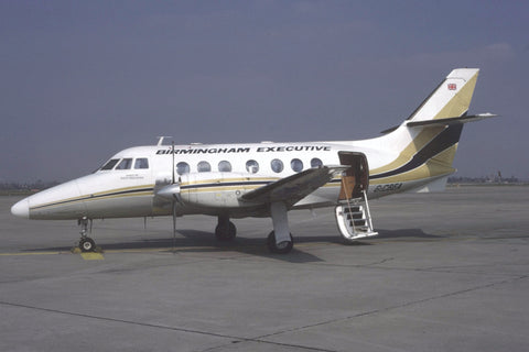 Jetstream 31 G-CBEA Birmingham Executive Mar-87
