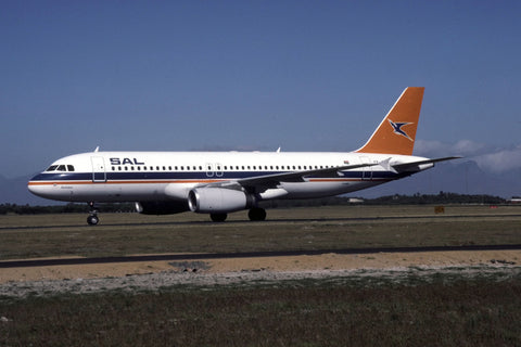 A.320-200 ZS-SHE South African Airlines Feb-96