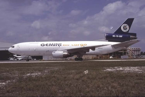 DC.10-30F N600GC Gemini Air Cargo at Miami IAP, Fl