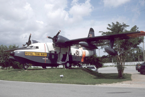 HU-16B 151263 Thai Navy - preserved - Oct87