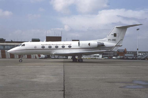 Gulfstream III 7T-VRC Algerian Government al London Heathrow