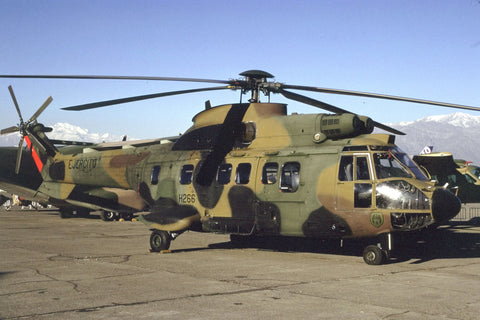 AS.332M H-266 Chilean Army May-02