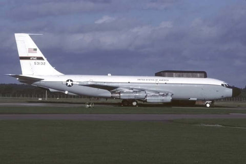 NKC-135E 55-3132 USAF/418th FLTS,412thTW at RAF Mildenhall Oct-99