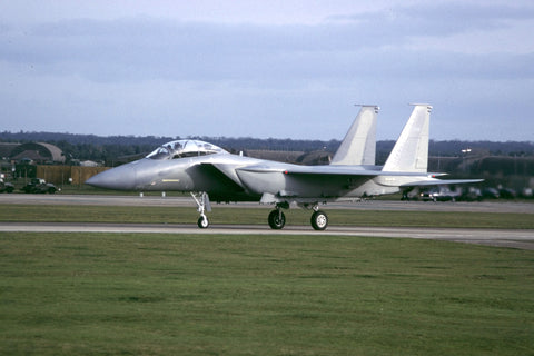 93-0901 F-15S Saudi AF on delivery at RAF Lakenheath  Feb-99
