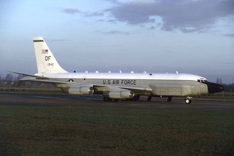RC-135V 64-14842/OF 38thRS/55thWG (ACC) -'old engines' Jan-98