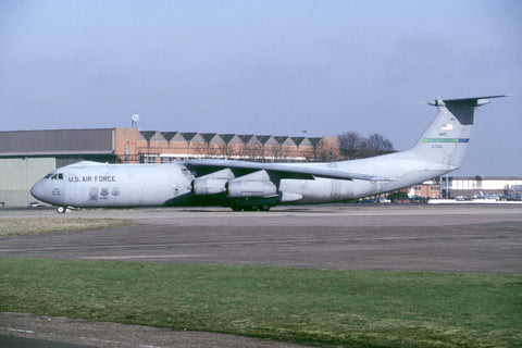 C-141B 66-7956 USAF/62ndAW (AMC) Feb-98