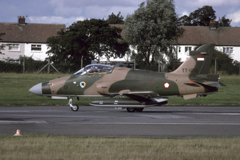 Hawk Mk.209 TT-1213 Indonesian AF at BAe Warton Oct-96