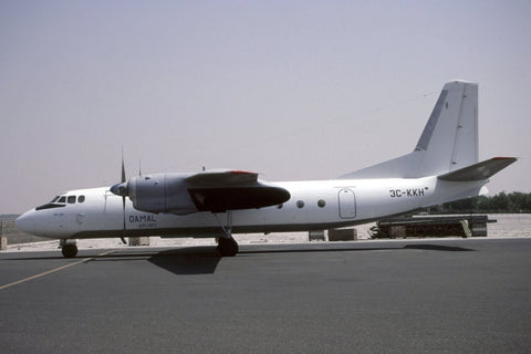 An-24RV 3C-KKH Damal Airlines Jan-00
