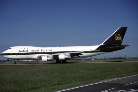 B.747-100F N677UP United Parcel Service Jun-03