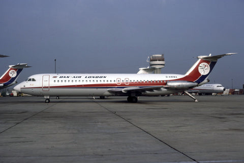 BAC 1-11 500 G-AWWX Dan-Air London no date
