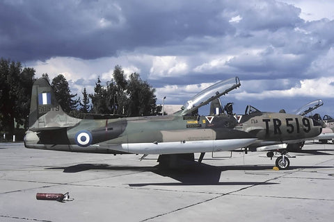 T-33A 55-8519/TR-519 Hellenic AF Apr-97