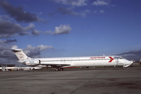 MD-82 S5-ABB Austrian Airlines Aug-92