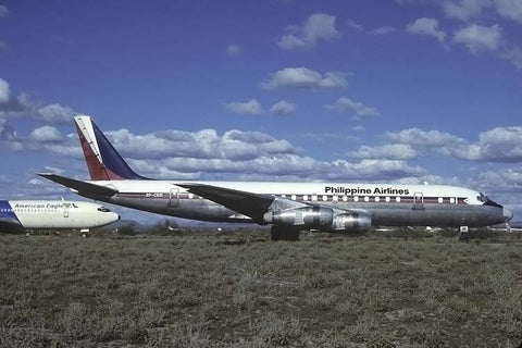DC.8-51 RP-C831 Philippine Airlines Mar-82