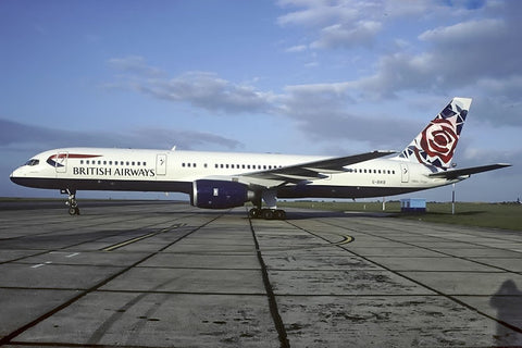 B.757-200 G-BIKB British Airways 'Chelsea Rose' World Colours tail Oct-98