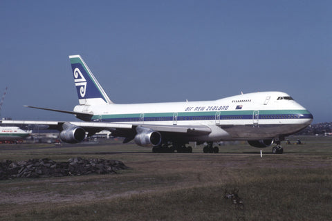 B.747-200 ZK-NZW Air New Zealand Mar-91