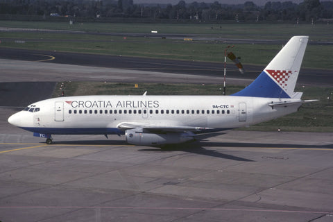 B.737-200 9A-CTC Croatia Airlines Oct-92