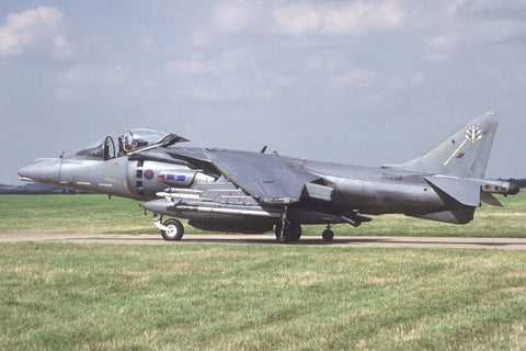 Harrier GR.7 ZG858 RAF/Air Warfare Centre Aug-01