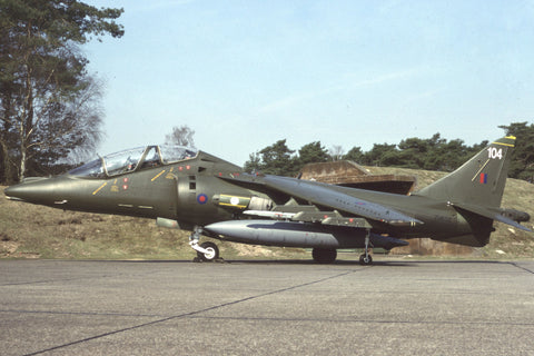 Harrier T.4 ZH656/104 RAF/3Sqdn Apr-93