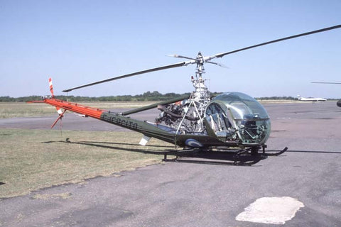 UH-12E AE-356 Argentine Army Apr-04