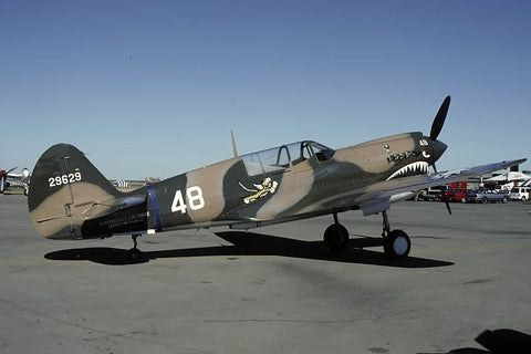 P-40N Warhawk 42-105867 flew as 29629/48 Oct-93