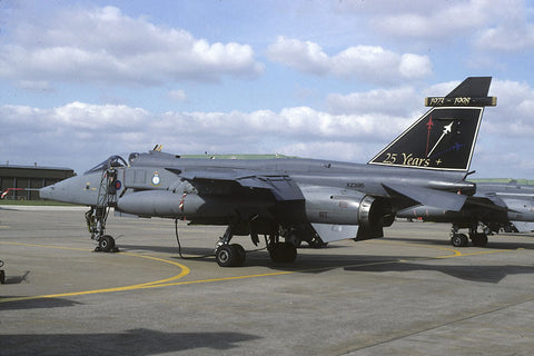 Jaguar GR.1A XZ396 RAF/6Sqdn - 25th ann c/s Oct-98