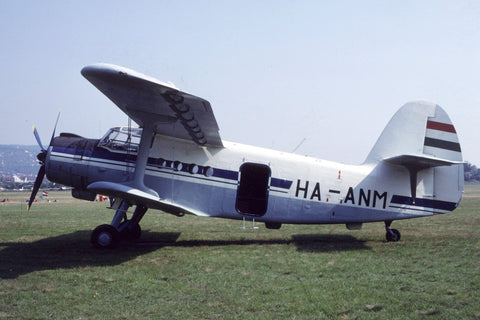 An-2 HA-ANM no titles Jun-91