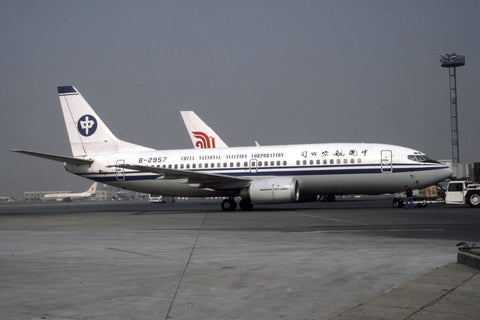B.737-300 B-2957 China National Aviation Corp Mar-97