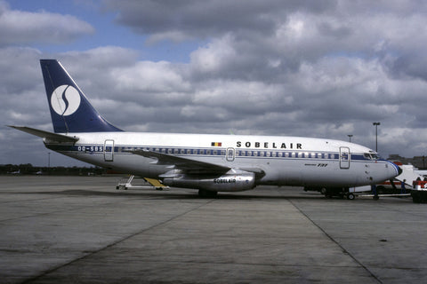 OO-SBS B.737-200 Sobelair Jun-82