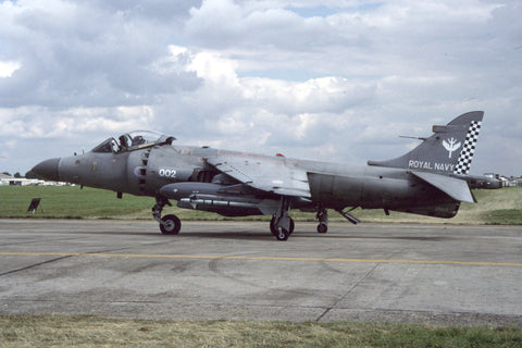 Sea Harrier F/A.2 ZD613/002 FAA/801Sqdn Aug-98