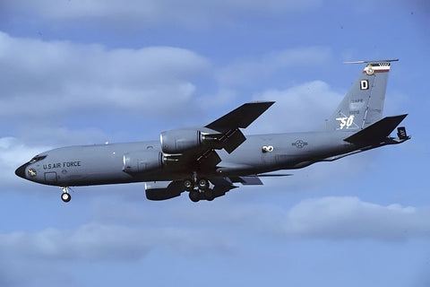 KC-135R 61-0312/D USAF/351stARS,100thARW (USAFE) - 50th ann marks Oct-97