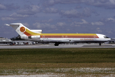B.727-200 6Y-JMP Air Jamaica Jan-89