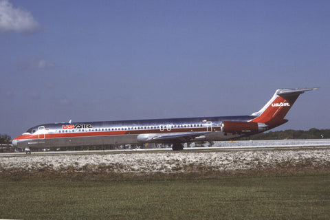MD-81 N808US US Airways Jan-93
